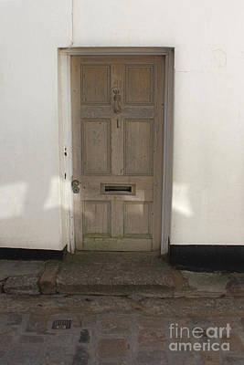 Photograph - Wooden Front Door by Terri Waters