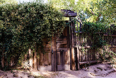 Photograph - Wooden Gate by Ben Graham