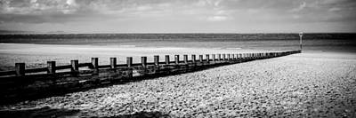 Photograph - Wooden Groyne by Max Blinkhorn