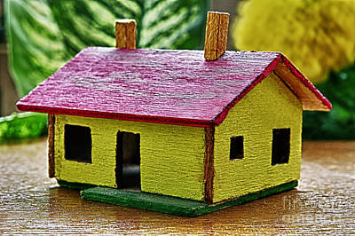 Old Home Place Mixed Media - Wooden House by Milan Karadzic
