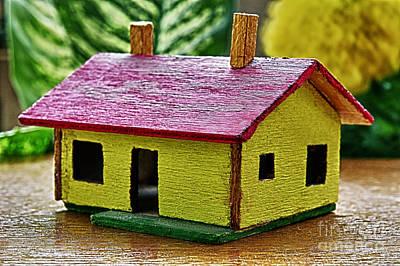 Wooden House Art Print