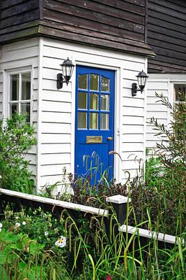 Door Photograph - Wooden House by Tom Gowanlock