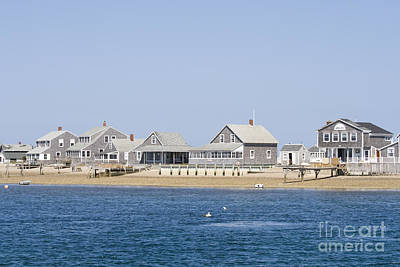 Photograph - Wooden Houses On Cape Cod by Patricia Hofmeester