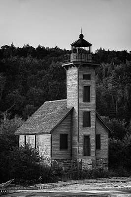 Photograph - Wooden Lighthouse by Sebastian Musial