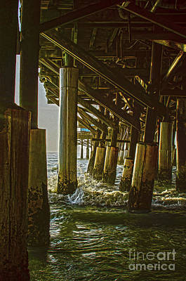 Photograph - Wooden Pier by Jerry Hart