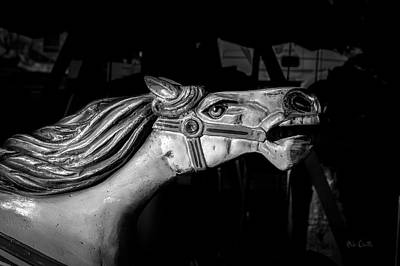 Carnival Art Photograph - Wooden Pony by Bob Orsillo