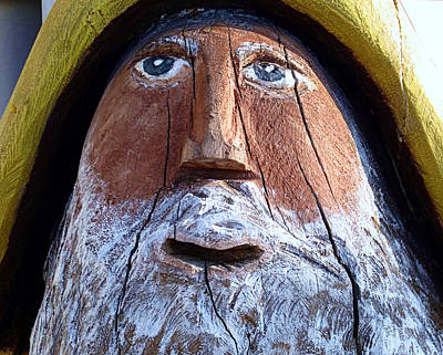 Photograph - Wooden Seaman by Janice Drew