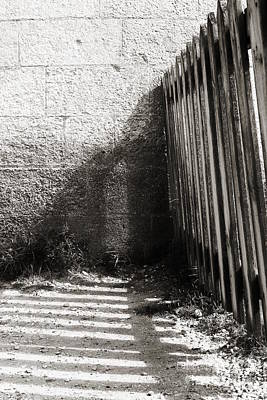 Photograph - Wooden Shadow by Cendrine Marrouat
