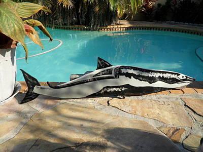 Wooden Shark Art Print