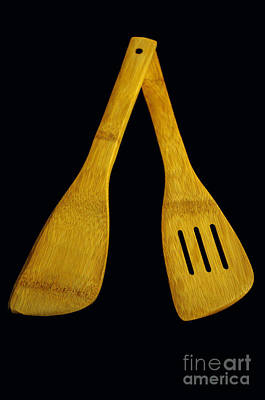 Photograph - Wooden Spatulas by Tikvah's Hope