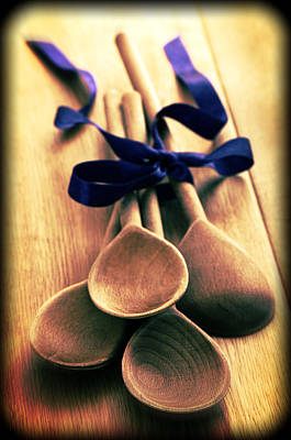 Wooden Spoon Photograph - Wooden Spoons by Amanda Elwell
