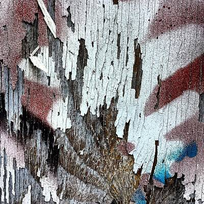 Abstract Wall Art - Photograph - Wooden Wall 5 by Jason Michael Roust