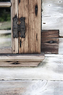 Photograph - Wooden Window Frame by Agnieszka Kubica