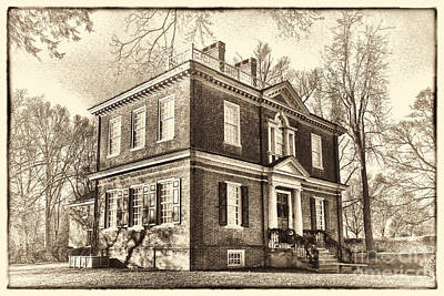 Fairmount Park Photograph - Woodford Mansion by Olivier Le Queinec
