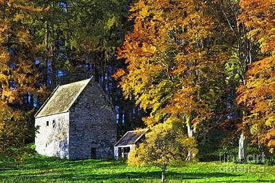 Photograph - Woodhouses Bastle Northumberland - Photo Art by Les Bell