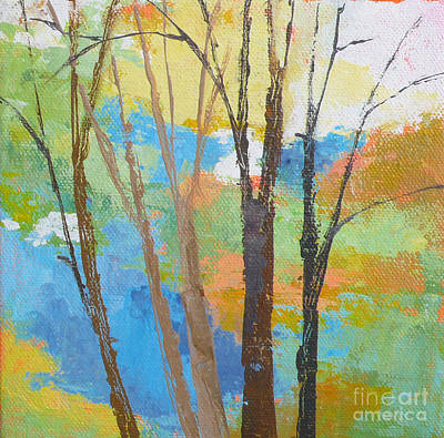 Woodland #1 Art Print by Melody Cleary