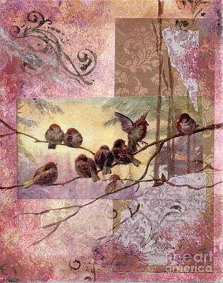 Painting - Woodland Flight by Tamyra Crossley