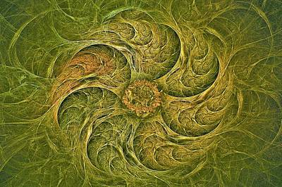 Digital Art - Woodland Gyre by Doug Morgan