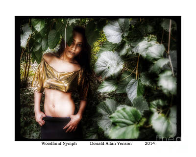 Impressionist Landscapes - Woodland Nymph by Donald Yenson