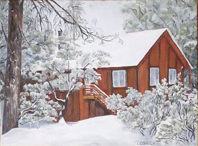 Painting - Woodland Retreat by Irene Corey