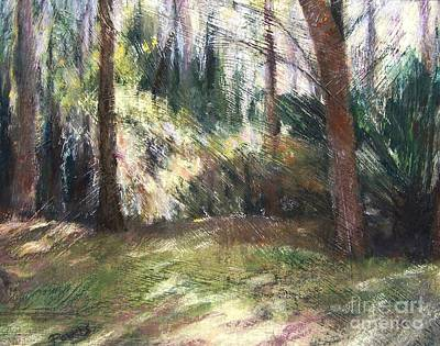 Woodland Shadows Art Print