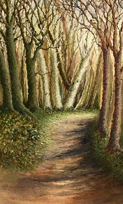Painting - Woodland Walk by Deborah Runham