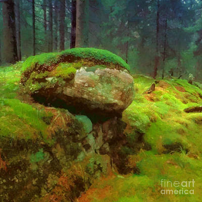 Woodlands Art Print by Lutz Baar