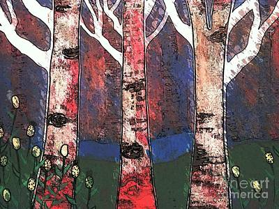 Woodlin Print by Amy Sorrell