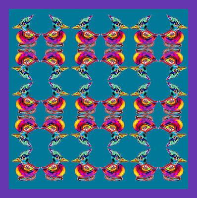 Digital Art - Woodpecker Print by Expressionistart studio Priscilla Batzell