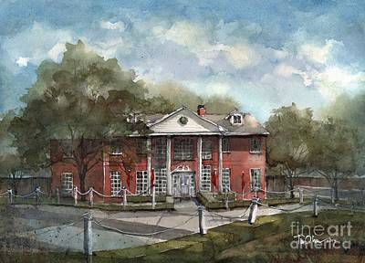 Woodrow Painting - Woodrow House by Tim Oliver