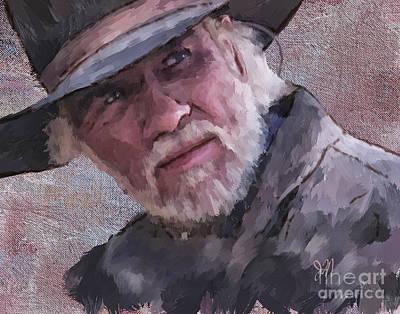 Painting - Woodrow by Jack Milchanowski