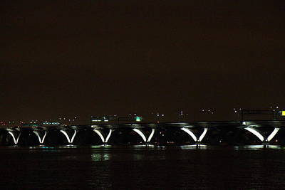 Wilson Photograph - Woodrow Wilson Bridge - Washington Dc - 011310 by DC Photographer