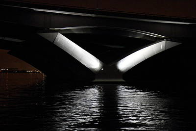 Curves Photograph - Woodrow Wilson Bridge - Washington Dc - 011312 by DC Photographer