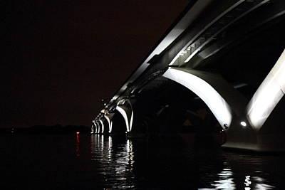 Woodrow Wilson Bridge - Washington Dc - 011319 Art Print by DC Photographer