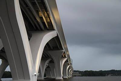 Woodrow Wilson Bridge - Washington Dc - 01133 Art Print