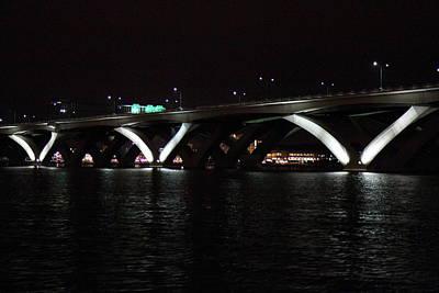 Woodrow Wilson Bridge - Washington Dc - 011338 Art Print by DC Photographer