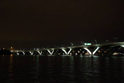 Woodrow Wilson Bridge - Washington Dc - 011339 Art Print by DC Photographer