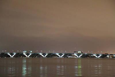 Woodrow Wilson Bridge - Washington Dc - 01134 Art Print by DC Photographer
