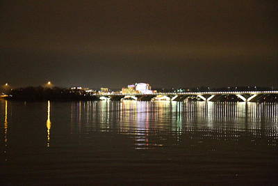 Woodrow Wilson Bridge - Washington Dc - 011340 Art Print