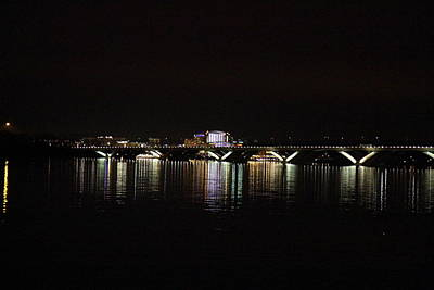 Wilson Photograph - Woodrow Wilson Bridge - Washington Dc - 011343 by DC Photographer