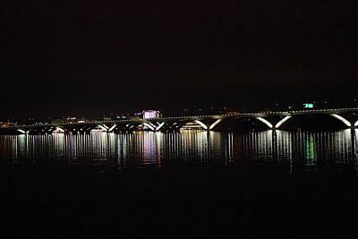 Woodrow Wilson Bridge - Washington Dc - 011344 Art Print by DC Photographer