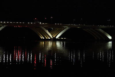 City Photograph - Woodrow Wilson Bridge - Washington Dc - 011349 by DC Photographer