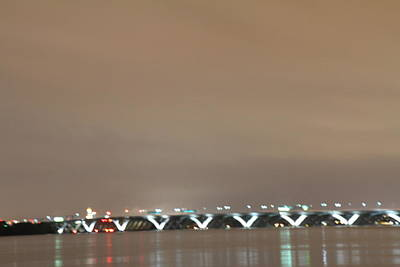 Woodrow Wilson Bridge - Washington Dc - 01135 Art Print by DC Photographer