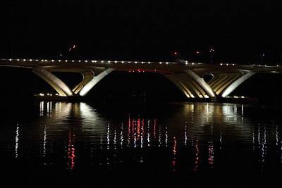 Columbia Photograph - Woodrow Wilson Bridge - Washington Dc - 011350 by DC Photographer