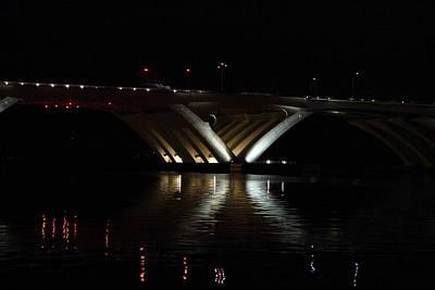 Curves Photograph - Woodrow Wilson Bridge - Washington Dc - 011351 by DC Photographer