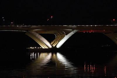 Woodrow Wilson Bridge - Washington Dc - 011352 Art Print