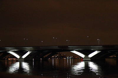 Columbia Photograph - Woodrow Wilson Bridge - Washington Dc - 011364 by DC Photographer