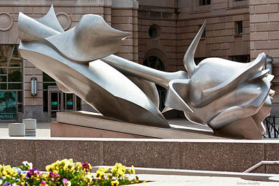 Photograph - Woodrow Wilson Plaza by Ann Murphy