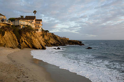 Woods Cove Laguna Beach Art Print by Cliff Wassmann