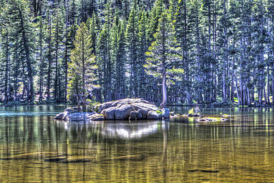 Photograph - Woods Lake 1 by SC Heffner